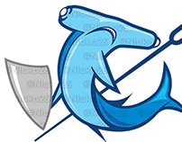 Shark Warrior Logo
