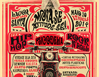 Poster - retrô - Rock - Pscicodélico