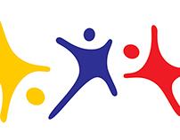 Diseño logo Fundación Crecer Jugando