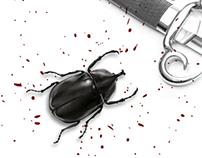 Cartaz - O escaravelho do diabo