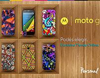 Diseño para PERSONAL/MOTOROLA Argentina