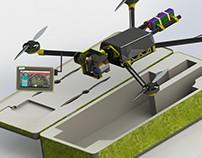 Drone comercial y de vigilancia