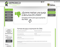 Deprodeco Website Design