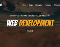 sitio web informativo - mi propia empresa ACNA Studios
