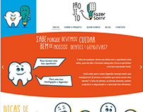 Layout PSD | 1º Projeto Fazer Sorrir