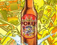 Cerveza POKER -  Edición especial