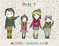 PANDY - Campaña otoño/invierno 2014