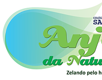 Logotipos criados para o Colégio Santo Anjo