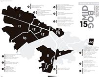 Mapa Muestra en tu localidad 15MIDBOG