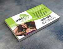 Cartão de Visita - Salão de Beleza