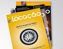 Locação magazine