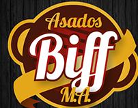 Logo ASADOS BIFF