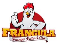 Logotipo com mascote Frangula