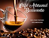 Etiqueta para café artesanal