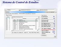 Sistema de Control de Estudios