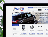 Proposta de redesign ID. Visual- Loja virtual Sport car