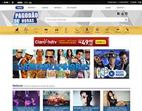 Website - Pagodão 24 Horas