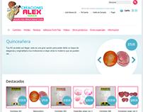 Creaciones Alex Shop Tienda en línea