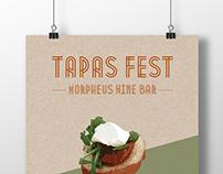 Tapas Fest Morpheus Wine Bar