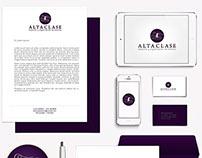 Alta Clase - Identidad visual