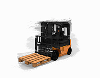 Forklift security parameters