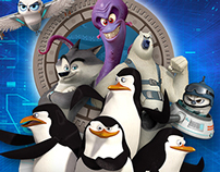 MOVIE POSTERS - Penguins of Madagascar