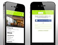 Diseño de App Propiedades.com