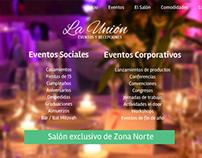 """Salón de Eventos """"La Unión"""""""