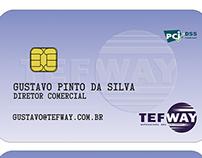 cartão TEFWay