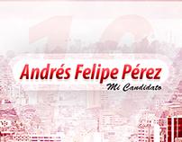 Consejal Andrés Felipe Pérez