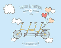 Pasquale & Marialaura- Wedding Invitation