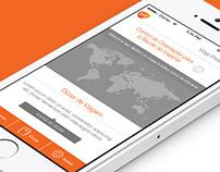 Viaje Prevenido - Design mobile APP