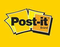Campaign design for Post-it