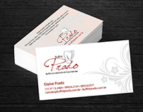 Cartão de visita Buffet Prado