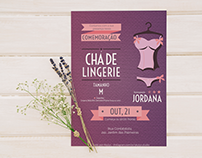 CONVITE | Chá de Lingerie