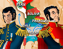 ILUSTRACIÓN: CARTA DE SAN MARTÍN A BOLÍVAR
