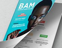 - Revista BAM - Branding y maquetación