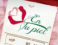 Logo - En tu piel, lingerie brand.