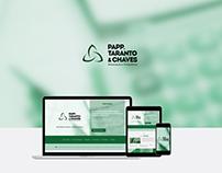 Website Papp, Taranto & Chaves Advocacia e Consultoria