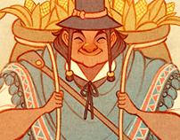 Inca farmer
