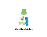 Liquid Paper - #Welikemistakes