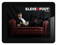 Eleven Foot, digital football magazine, App