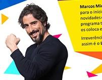 Novo plano do Legendários com Marcos Mion