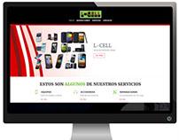 Diseño de Sitio Web: L-Cell