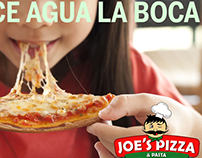 Post de Joe´s Pizza y Pasta