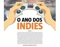 Redação jornalística - A ascensão dos indie games