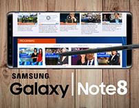 Presentación Samsung Note 8 NTN24