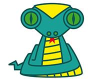 Mascota para logo sector Yoga.