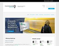 TransitandoBA / Diseño y desarrollo website