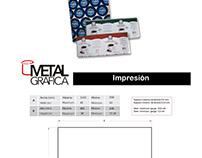 Diseño y montaje de Fichas Técnicas